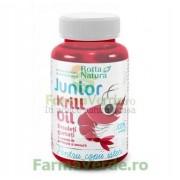 Krill Oil Junior Super Omega 3 30 jeleuri gumate Rotta Natura