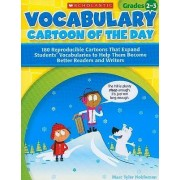 Vocabulary Cartoon of the Day, Grades 2-3 by Marc Tyler Nobleman