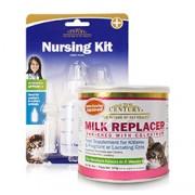 NURSING KIT FOR PETS (2oz) 60ml & KITTEN MILK REPLACER POWDER (6oz) 170g VALUE PACK