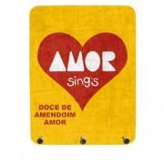 Porta Chaves Amor Coracao Love