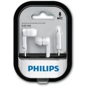 Philips SHE1405BK/94 In-Ear Headphone Headset With Mic - White