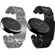Ceas Motorola Moto 360 Smartwatch metalic band