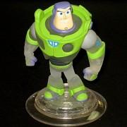DISNEY INFINITY Crystal Clear Buzz Lightyear LOOSE figure