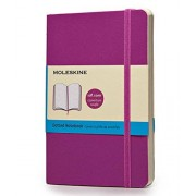 Moleskine Classic Colored Notebook, Pocket, Dotted, Orchid Purple