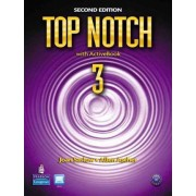 Top Notch 3 Student Book and Workbook Pack by Joan M Saslow