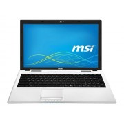 """MSI CR61 2M 1205XFR - Pentium 3560M / 2.4 GHz - FreeDOS - 4 Go RAM - 500 Go HDD - DVD SuperMulti - 15.6"""" 1366 x 768 ( HD ) - Intel HD Graphics - blanc"""