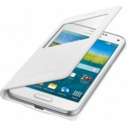 Husa Flip Samsung S-view Copper Galaxy S5 Mini G800 White