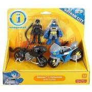 Imaginext DC Super Friends Exclusive Gotham City Batman Catwoman Cycles