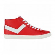 Pony Topstar Leather Hi red