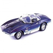 1961 Chevrolet Corvette Mako Shark Motor Max 1:18 Scale