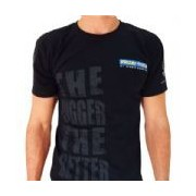 Camiseta The Bigger The Better - Preta Tamanho M - Probiótica