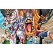 (1000 Pieces) One Piece - Desert Kingdom of Alabasta (50Ã_5cm) Jigsaw Puzzle (japan import)