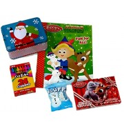 Rudolph The Red Nosed Reindeer Coloring & Activity Book Gift Set, Coloring Pages, Crayons, Holiday Activities Fun For Children