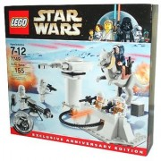 Lego Star Wars Series Exclusive Anniversary Edition Battle Scene Set # 7749 - ECHO BASE with 5 Minifigures (2 Snow Troop