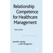 Relationship Competence for Healthcare Management by Jennifer Landau