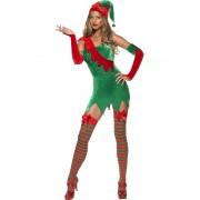 Costum Craciun Spiridusa Fever Elf