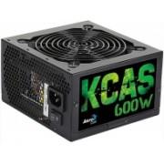 Fuente de Poder Aerocool KCAS-600W, 20+4 pin ATX, 120mm, 600W