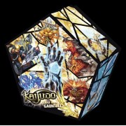 Kaijudo Rise of the Duel Master Card Game: QUEST FOR THE GAUNTLET Set Premiere Box - 5 Packs / 14 cards by Kaijudo