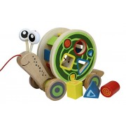 Hape E0349 - Lumachina da passeggio, multicolore