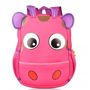 Alotpower Baby Lovely Schoolbag Outdoor Activity Travel Backpack Fashion Bag(Hot Pink)