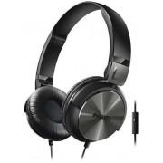 Casti Stereo Philips SHL3165BK, Microfon (Negru)