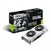 ASUS GeForce 6GB Dual-Fan OC Edition VR Ready Dual HDMI DP 1.4 Gaming Graphics Card DUAL-GTX1060-O6G DUAL 6GB