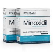 FOLIGAIN MINOXIDIL 5% (Low Alcohol Formula) 6 Month Supply