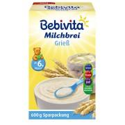 Bebivita Milchbrei Grieß ab dem 6. Monat 600 g