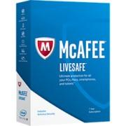 McAfee LiveSafe - Abonnement 1 an