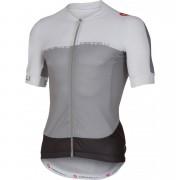 Castelli Aero Race 5.1 Short Sleeve Jersey - Grey/White - XL