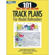 101 More Track Plans for Model Railroaders by Associate Professor of Religious Studies and East Asian Studies Jeff Wilson