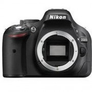 Nikon D5200 24.1 MP Digital SLR Camera Body Only (Black) + Memory Card and Carry Case + Free 16GB (Class 10) SD Card