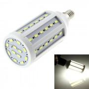 E14 18W LED bombilla de maiz blanco frio 1800lm 60-SMD 5630 (ac 220V)