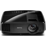 Videoproiector BenQ MS506, DLP, SVGA, 3200 lumeni, 800 x 600, Contrast 13000:1 + Hanorac James Ross (Gri)