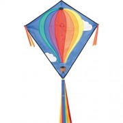 "HQ Kites Eddy Jolly Roger 27"" Diamond Kite"