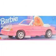 BARBIE MUSTANG Convertible VEHICLE CAR (1993 Arcotoys Mattel)