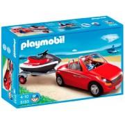 Playmobil Vacaciones - Coche con remolque y moto (5133)