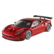 FERRARI 458 ITALIA GT2 PRESENTATION VERSION RED 1:18 Hot Wheels Auto Stradali modello modellino die cast