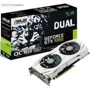 Asus Dual GeForce GTX 1060 6Gb/6144mb 192bit DDR5 Graphics Card