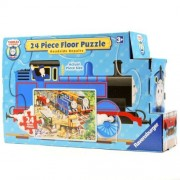 Thomas & Friends: Roadside Repair - 24 Piece Floor Puzzle in a Shaped Box by Ravensburger