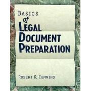 Basics of Legal Document Preparation by Robert Cummins