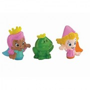 Nickelodeon Bubble Guppies Molly Deema and Frog Bath Squirters Toy