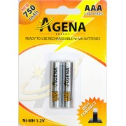 Baterije Agena R03 AAA punjive 750mAh B2