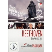 Paavo Jarvi - Beethoven :Symphonies 5-8 (DVD)