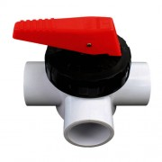 Spa Quip 3 way valve 40mm