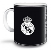 Real Madrid bögre - fekete