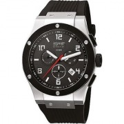 Esprit Quartz Black Round Men Watch EL101001F01
