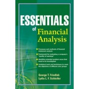 Essentials of Financial Analysis by George T. Friedlob