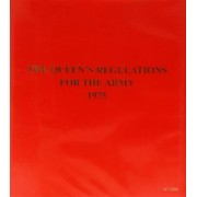 The Queen's Regulations for the Army 1975 by Great Britain: Ministry of Defence (Army)