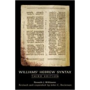 Williams' Hebrew Syntax by Ronald J. Williams